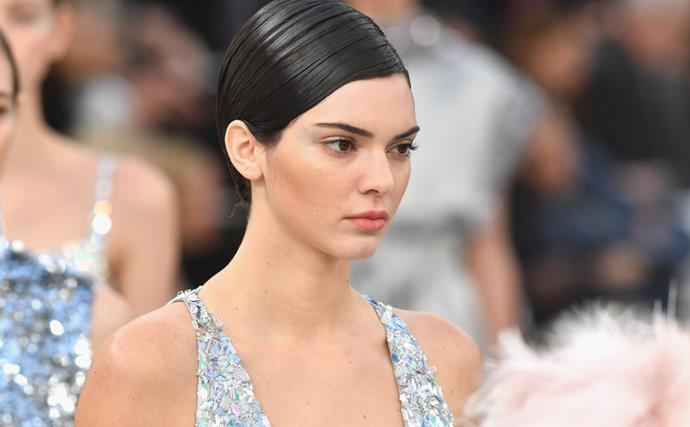 Kendall Jenner Chanel runway show