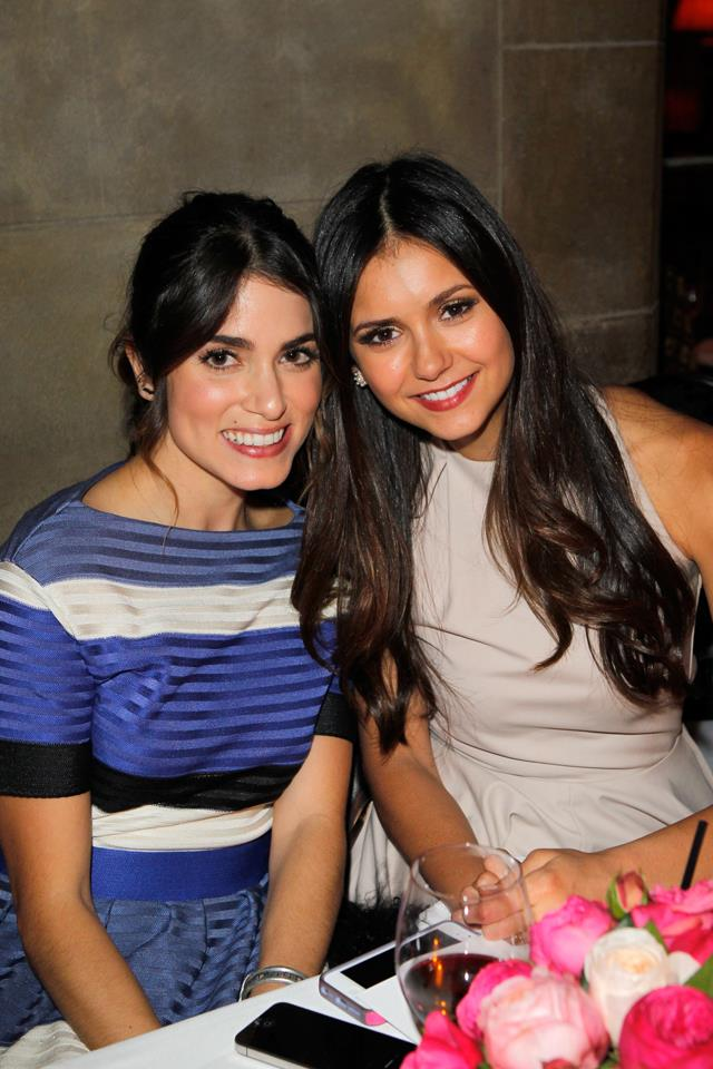 """<p><strong>Nikki Reed and Nina Dobrev</strong><p> Dobrev dated her on-screen love interest Ian Somerhalder for several years before they broke up in 2013. Somerhalder moved on with their mutual friend Nikki Reed, marrying her in 2015. For years, rumours persisted about Reed backstabbing Dobrev and forcing her off of <em>The Vampire Diaries</em>, but all three members of this so-called """"love triangle"""" finally and firmly shut that nonsense down in February 2017 with Instagram posts of a group hang-out. """"For the last few years, we thought addressing any baseless rumors with silence was the best way,"""" Reed captioned her photo of the three looking chummy. """"So here's to putting an end to all those fake stories of on set jealousy, betrayal, made-up-friendships lost, and women hating women. Because at the end of the day, that's what this is about: teaching girls that you have to hate other girls only breeds a generation of women who believe you have to hate other women."""""""