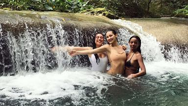 These Photos From Bella Hadid's Jamaican Vacation Will Make You Want To Book A Holiday ASAP
