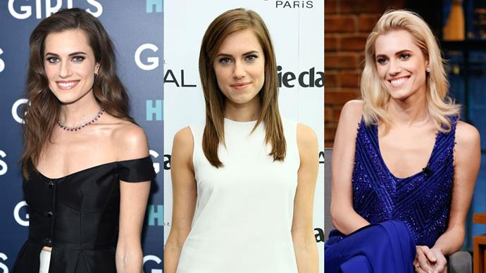 Hair chameleon, Allison Williams, has tried the entire trio too, stating she gets a lot more attention with her new blonde locks.