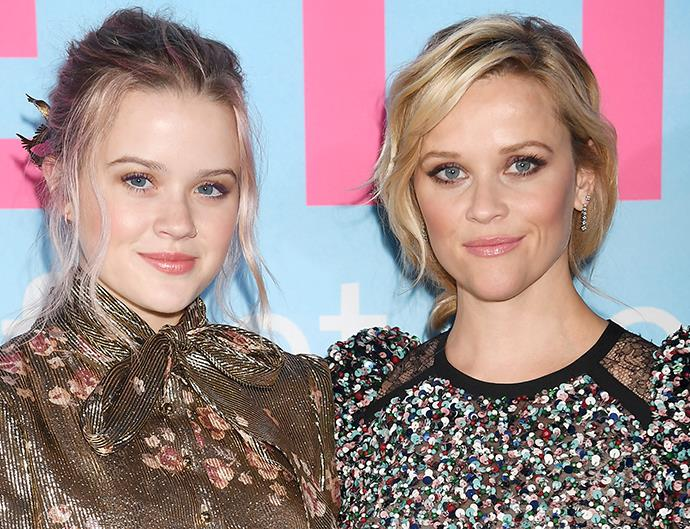 Ava Phillippe Reese Witherspoon twins