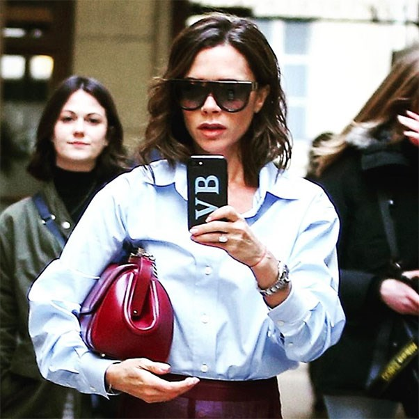 "<p><strong>Victoria Beckham</strong> <p>Instagram: <a href=""https://www.instagram.com/chaos/"">@chaos</a>"
