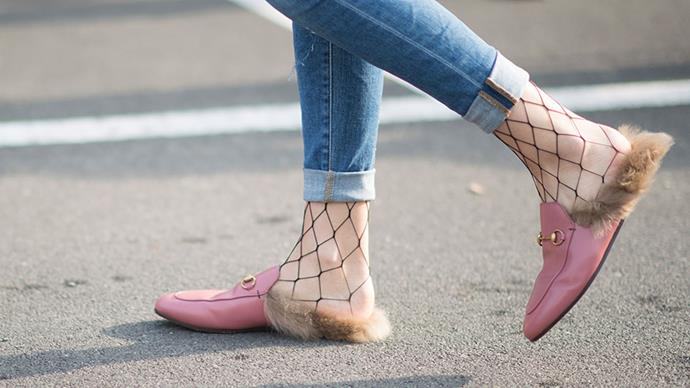 5. Add Some Attitude By Wearing Alongisde Cool Girl Fishnets
