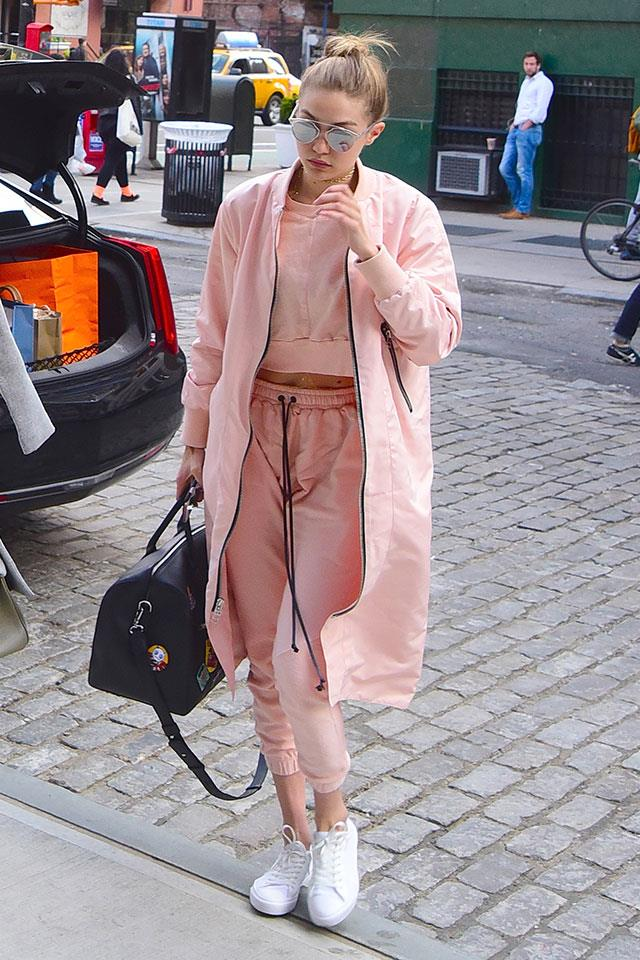 10. If You Want To Don Head-To-Toe Bubblegum, Remember To Break It Up With Crisp Black And White Accents