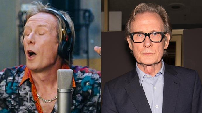 <p><strong>Who:</strong> The man who squeezed an extra syllable into a song and still managed to get a number one hit, played by Bill Nighy. <BR><Br> <strong>Where is he now?</strong> Since playing Billy Mack, Nighy has starred in films such as <em>The Best Exotic Marigold Hotel</em>, <em>About Time</em> and H<em>arry Potter and the Deathly Hallows: Part 1</em>, to name a few.