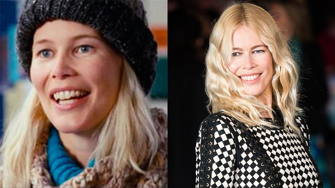 <p><strong>Who:</strong> The single mother who just happened to look a lot like Claudia Schiffer, played by Claudia Schiffer. <BR><BR> <strong>Where is she now?</strong> Schiffer may have stopped acting after her appearance in <em>Love Actually</em> but she's still one of the world's most iconic supermodels to this day.