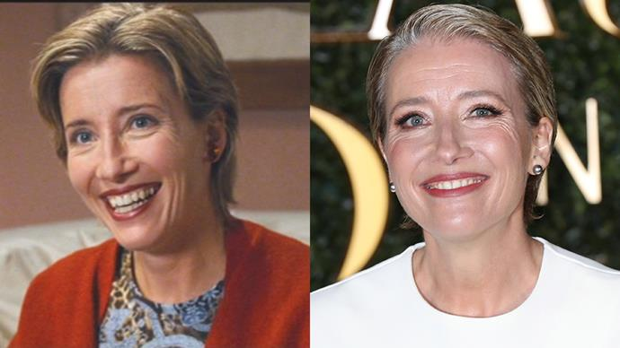 <p><strong>Who:</strong> The sweetest mother and Joni Mitchell lover, played by Emma Thompson. <BR><BR> <strong>Where is she now?</strong> Oh, apart from starring in <em>Harry Potter, I Am Legend, Stranger Than Fiction</em> and <em>Beauty and the Beast</em>, she co-wrote the script for the latest <em>Bridget Jones</em> movie (and had a wee cameo in that too).