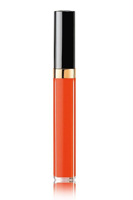 "Forget nail top coats, 2017 is all about lip top coats. Curated by CHANEL's makeup maestro-in-chief, Lucia Pica, this punchy neon-orange is one of three transformer shades designed to pep up your lipstick for a brighter, bolder, glossier finish. <br><br>Rouge Coco Gloss in Impulsion, $50, <a href=""http://shop.davidjones.com.au/djs/en/davidjones/shop-by-brand-beauty/rouge-coco-gloss--moisturizing-glossimer"">CHANEL at David Jones </a>"