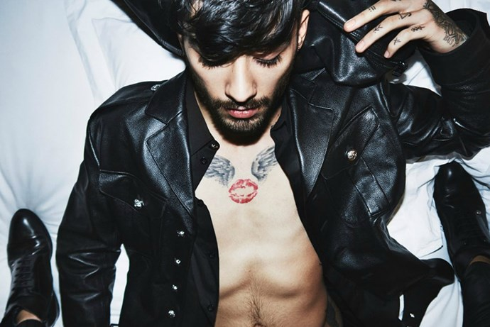 <p><em>Zayn for Versus Versace</em><p> Since making his big break from cookie-cut One Direction, Zayn (drop the 'Malik') has been carving out a name for himself as the new bad boy of the industry. And what better way to do that than with a Versace campaign? Oh, and a Versace design gig, too.