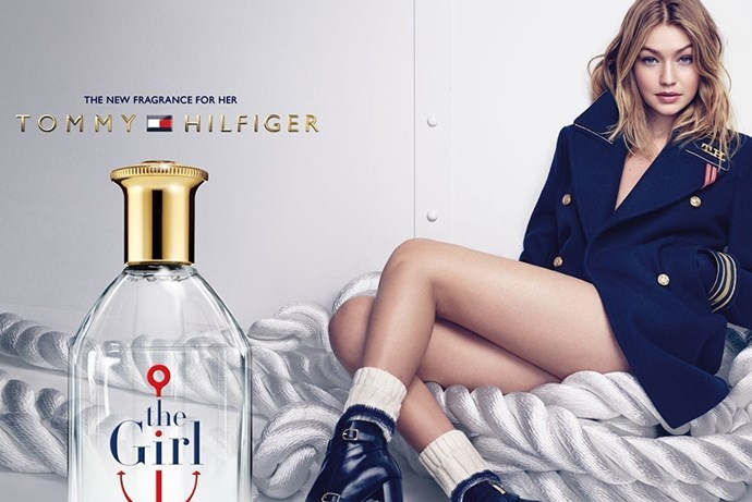 <p><em>Gigi Hadid for Tommy Hilfiger</em><p> Two collaboration collections, a fragrance and a handful of campaigns? We think this is the start to a beautiful relationship.