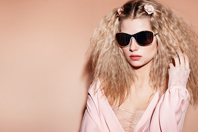 <p><em>Lottie Moss for Chanel</em><p> Lottie definitely took after her older sister, the Great Kate Moss, when she was tapped by Karl Lagerfeld for Chanel's new eyewear campaign.