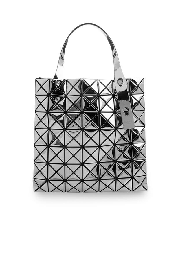 "Bag, $1,469, Bae Bae Issey Miyake at <a href=""http://www.matchesfashion.com/au/products/Bao-Bao-Issey-Miyake-Prism-mini-tote--1035740"">Matches Fashion</a>"