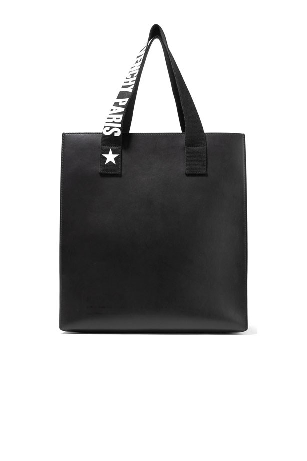 """Bag, $2,351, Givenchy at <a href=""""https://www.net-a-porter.com/au/en/product/860899/givenchy/stargaze-printed-canvas-trimmed-leather-tote"""">Net-A-Porter</a>"""