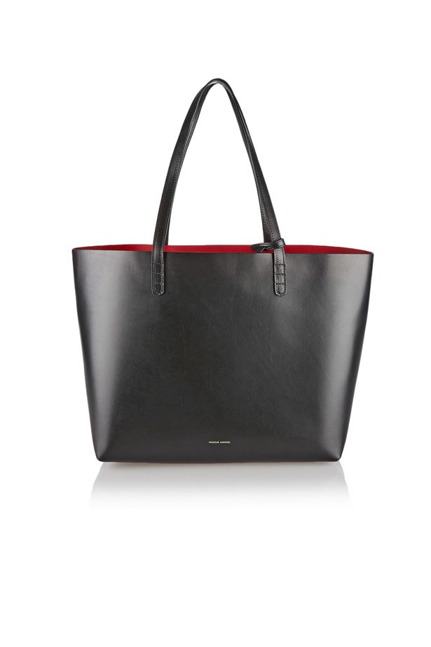 "Bag, $702, Mansur Gavriel at <a href=""https://www.net-a-porter.com/au/en/product/471193/mansur_gavriel/large-leather-tote"">Net-A-Porter</a>"