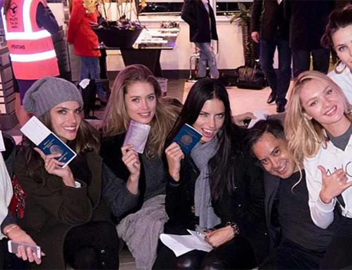 Victoria's Secret Angels in London
