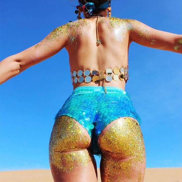 "<strong>Butt Glitter</strong> <br><br> Now that festival season is upon us, people are literally covering their butt with glitter. Again, no… just no. <br><br> Image: <a href=""https://www.instagram.com/thegypsyshrine/"">thegypsyshrine</a>"