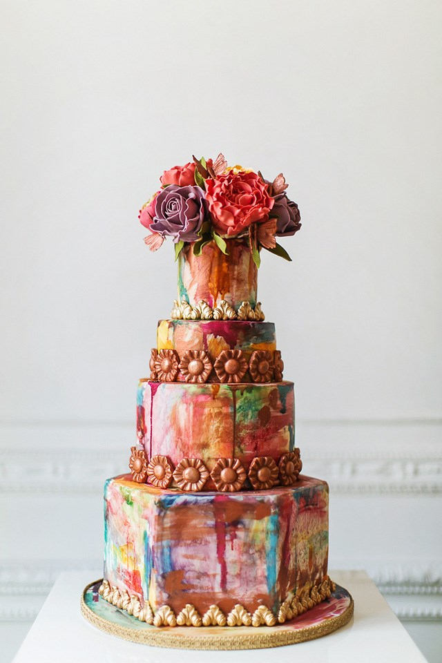new wedding cakes 2017 the top wedding cake trends for 2017 17819