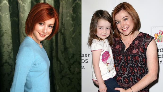 <p><em>Alyson Hannigan as Willow Rosenburg</em><p> Back in the day, Willow was our sweet and shy nerd turned witch. Now, Alyson stars in a few movies here and there. She is mostly known for her work in <em>How I Met Your Mother</em>.
