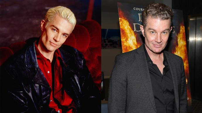 <p><em>James Marsters as Spike</em><p> James has had several recurring roles on TV shows since playing the reformed bad boy, Spike, on <em>Buffy</em>.