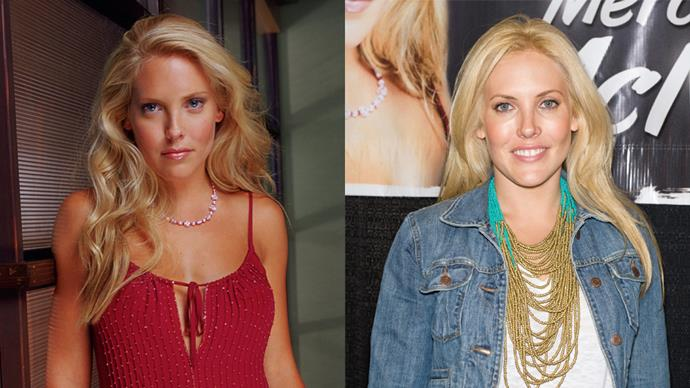 <p><em>Mercedes McNab as Harmony Kendall</em><p> High school Queen Bee Harmony got turned into a (pretty bad) vampire later in the series. Mercedes is pretty low-key nowadays.