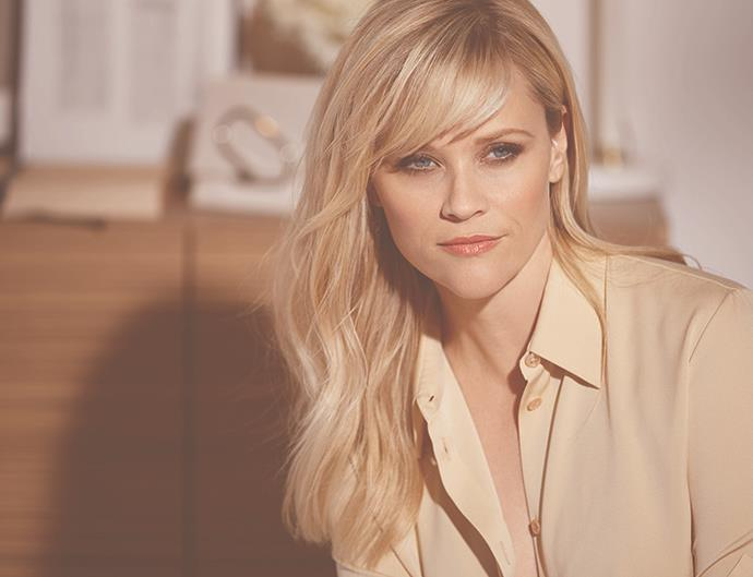 Reese Witherspoon for Elizabeth Arden.