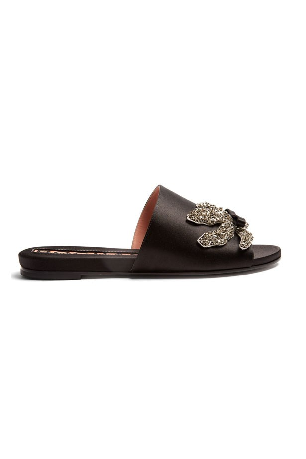 """Flats, $697, Rochas at <a href=""""http://www.matchesfashion.com/au/products/1074193"""">Matches Fashion</a>"""