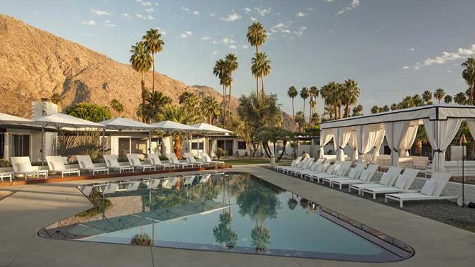 """<a href=""""http://www.booking.com/hotel/us/l-39-horizon-resort-amp-spa.en-gb.html""""><strong>L'Horizon Resort & Spa</strong> </a> <strong>Follow in the footsteps of Marilyn Monroe and book a room at this iconic Hollywood residence in the middle of the Californian desert.</strong>"""