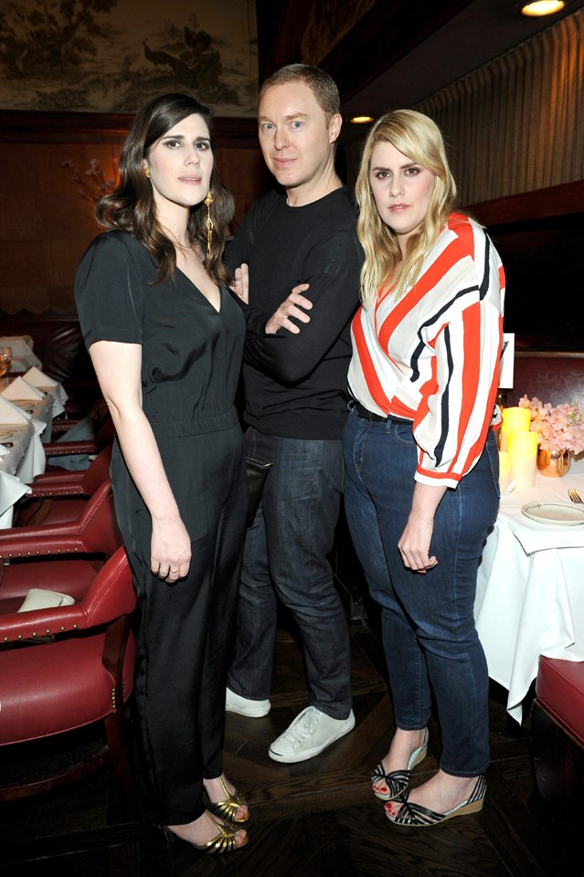 Stuart Vevers, Laura Mulleavy and Kate Mulleavy