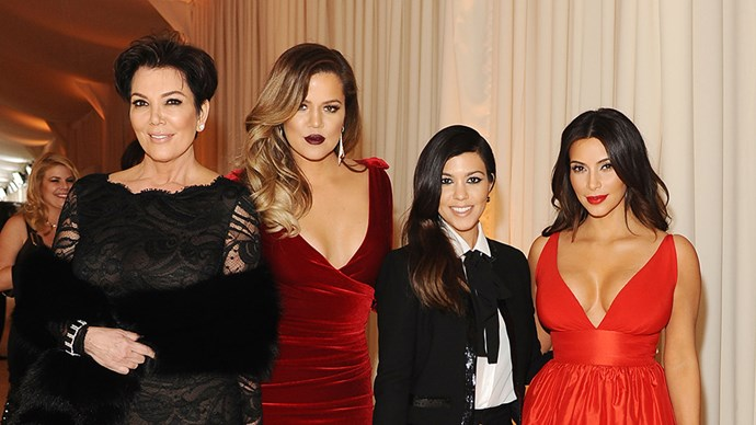 Kim Kardashian, Khloe Kardashian and Kourtney Kardashian.