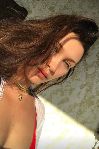 Bella Hadid Is On Another Amazing Beachside Getaway And The Instas Are To Die For