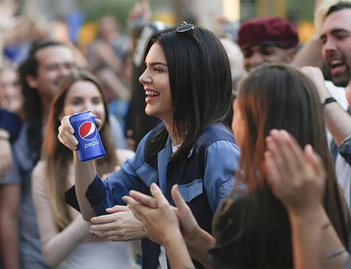 Kendall Jenner for Pepsi.