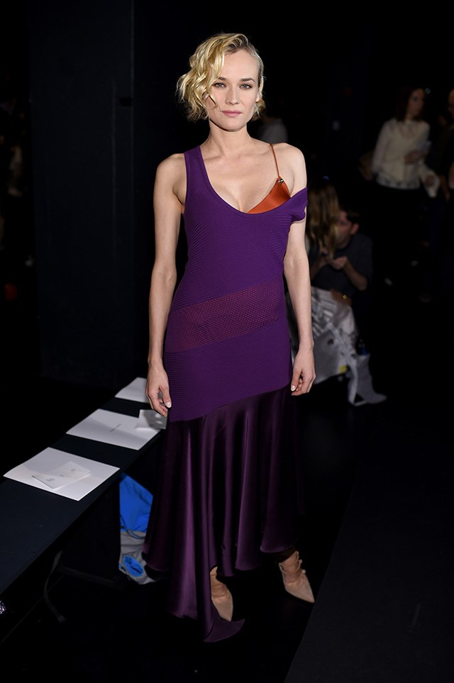In Prabal Gurung at the Prabal Gurung show in New York.