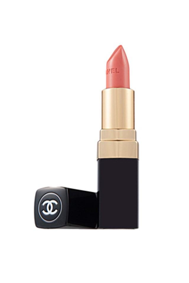 "Chanel Rouge Coco Ultra Hydrating Lip Colour in Catherine, $53, at <a href=""http://shop.davidjones.com.au/djs/en/davidjones/rouge-coco-ultra-hydrating-lip-colour"">David Jones</a>"