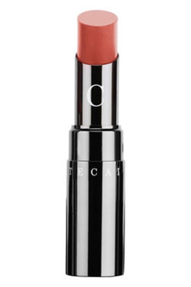 "Chantecaille Lip Chic in Geranium, $52, at <a href=""http://mecca.com.au/chantecaille/lip-chic/V-008039.html?cgpath=makeup-lips-lipstick#start=1"">Mecca</a>"