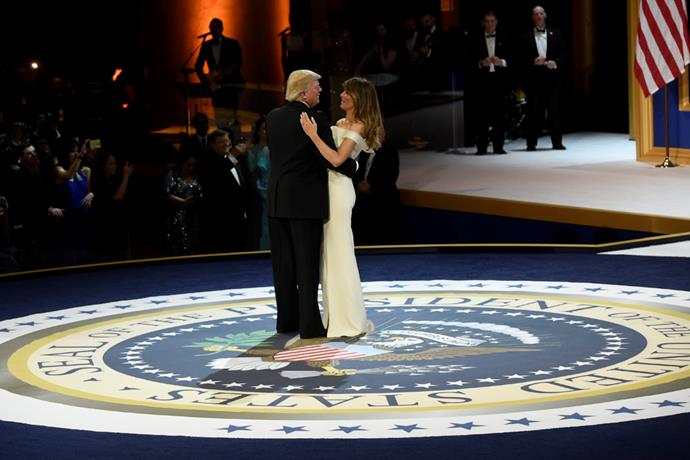 <p>When Donald and Melania danced during the Armed Forces Ball on the day of the inauguration, there were many stories written about the couple's body language.