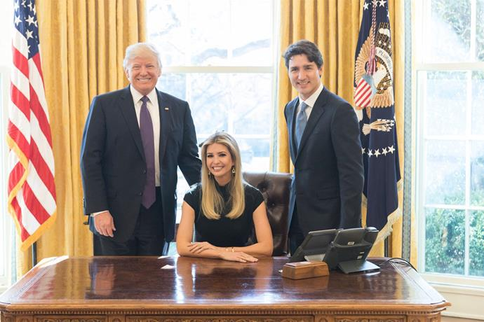 """<p>People were outraged when <a href=""""https://twitter.com/IvankaTrump/status/831270847671316483"""">Ivanka tweeted</a> this photo of herself sitting in the President's chair in the Oval Office. The seat is reserved for the President, and only the President."""