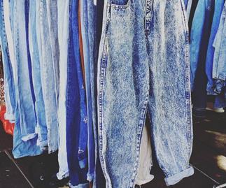 Vintage jeans.