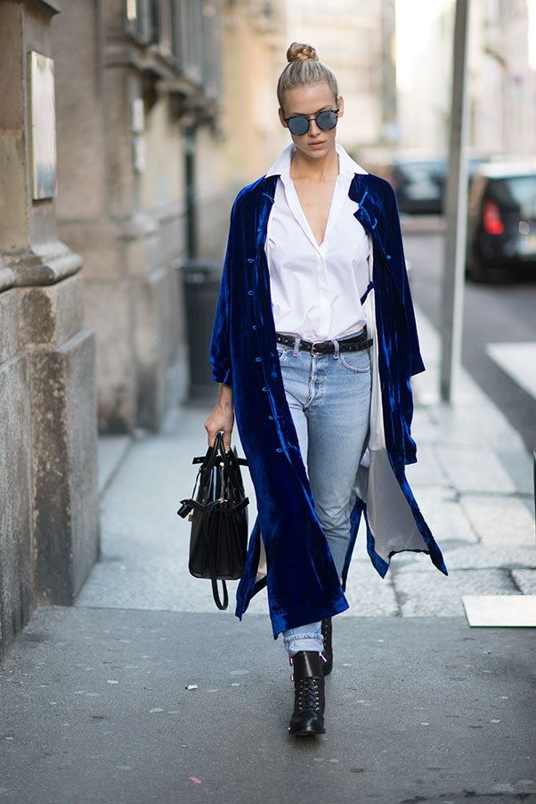 <p><strong>4. Wear a wrap dress as a jacket</strong>