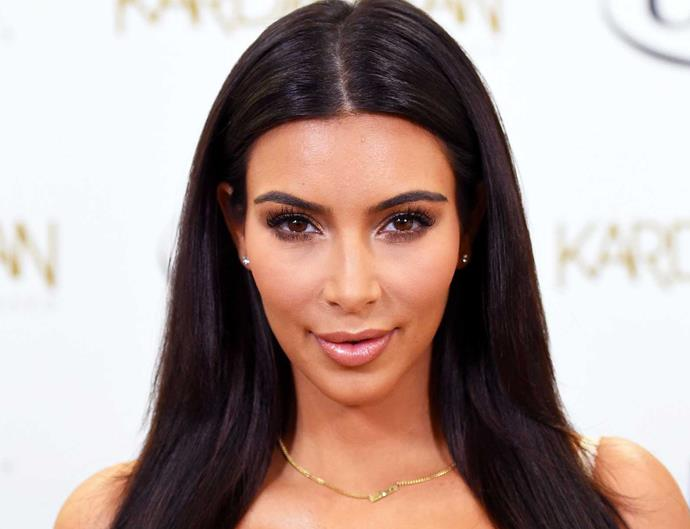 Kim Kardashian acupuncture