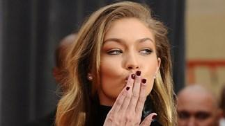 Gigi Hadid nail polish
