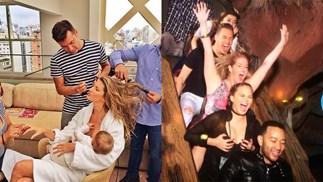 Celebrities Breastfeeding