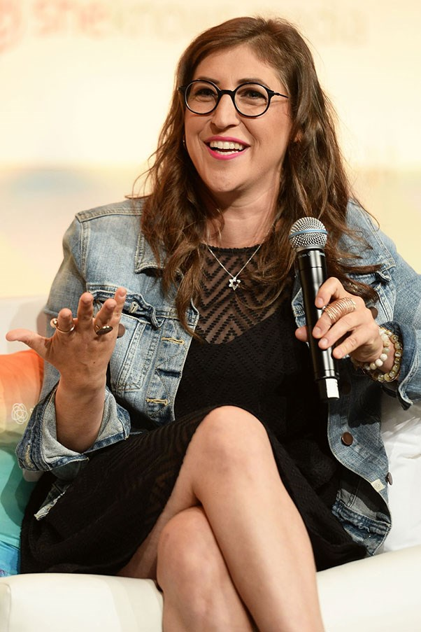 """<strong>MAYIM BIALIK REVEALS HER TRUE IQ</strong> <p><p> Bialik plays a genius named Amy on CBS's <em>The Big Bang Theory</em>, but she's also one in real life: The actress earned her Ph.D from UCLA in 2007 between shooting films and TV shows. Still, a reporter from TNT assumed at the SAG Awards in 2014 that Bialik was not quite as smart as her character: """"So, being on <em>The Big Bang Theory</em>, how many people think that you can solve calculus at the drop of hat?"""" he asked. """"Um, I actually was trained in calculus for several years,"""" <a href=""""https://www.youtube.com/watch?v=dIu_6u0VlwU"""">Bialik replied</a>. """"I'm a neuroscientist."""""""