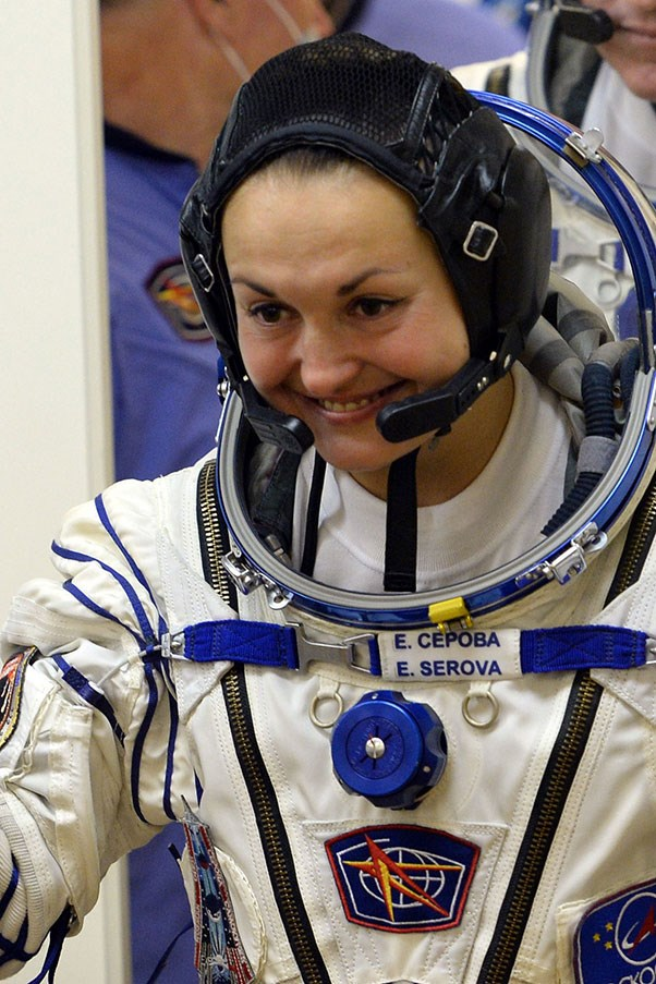 """**ELENA SOREVA REFUSES TO ANSWER QUESTIONS ABOUT HER HAIR** <p><p> Soreva is a cosmonaut who became the first Russian woman to go to the International Space Station—a huge achievement. But seriously, what about her hair? <p> <a href=""""https://www.youtube.com/watch?v=bK41bpJjddA"""">During a 2014 press conference</a>, someone asked Soreva, """"Can you tell me more about your everyday life on the station? For example your hair? How are you planning to do your hair?"""" <p> Soreva sitting amongst her all-male team, replied, """"Can I ask a question too: Aren't you interested in the hair styles of my colleagues?"""""""