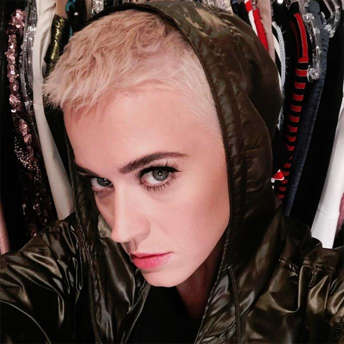 <p>Could the bleach blonde pixie be the celeb-approved cut and colour of the season? We think so.<p> <strong>Katy Perry</strong>