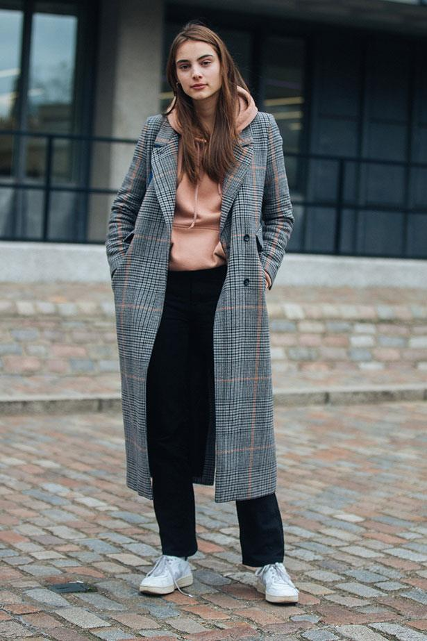 3. Inject Sports Luxe Vibes By Donning A Hoodie Under A Tailored Coat