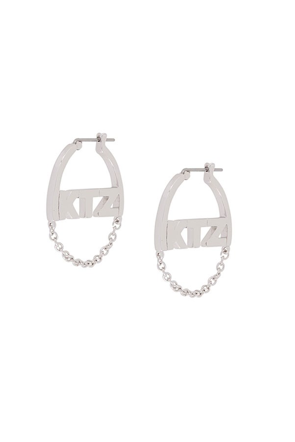 "Earrings by KTZ, $143 at <a href=""https://www.farfetch.com/au/shopping/women/ktz-small-chain-earrings--item-11876039.aspx?storeid=10219&from=listing&ffref=lp_pic_251_7_"">Farfetch.com</a>"