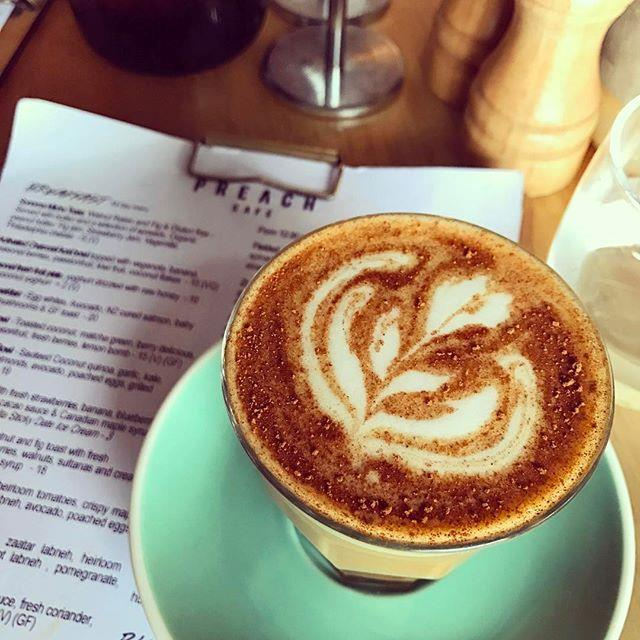 """<p><strong>Dirty chai</strong> <p> This tasty drink is a traditional chai with a shot of coffee. It's a spiced caffeine alternative. <p><em>Image: <a href=""""https://www.instagram.com/p/BSxuh1bBwlu/"""">zannavandijk</a></em>"""