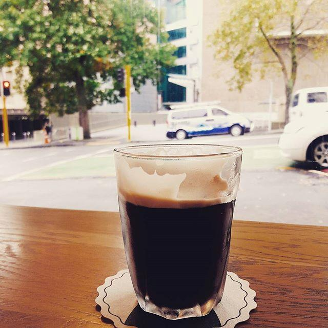 """<p><strong>Nitro coffee</strong> <p>Iced coffee straight from the tap! Cold-brew coffee infused with nitrogen gas is released through a pressurised valve with tiny holes. As high pressure forces the cold brew past a disc, it creates a creamy, stout-like effect for a smooth, clean flavour. <p> <em>Image: <a href=""""https://www.instagram.com/p/BSzTNCqBwLN/"""">_xeriyul0402</a></em>"""