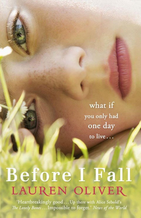 <P><strong><em>Before I Fall </em>by Lauren Oliver</strong> <p><strong>Release date:</strong> March 2, 2017 <p><strong>What it's about:</strong> This young adult novel follows Samantha, a teenager who relives the last day of her life over and over for a week. She is forced to untangle the mystery of her death and begins to question how perfect her former life actually was. <p><strong>Who'll be in the film:</strong> Zoey Deutch, Jennifer Beals, Halston Sage <p> <strong>If you liked this,</strong> try: <em>Thirteen Reasons Why</em> by Jay Asher,<em> Go Ask Alice</em>