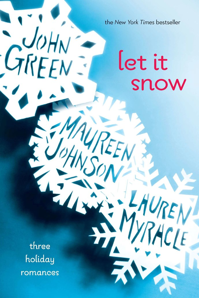 <p><strong><em>Let It Snow</em> by John Green, Maureen Johnson, and Lauren Myracle</strong> <p> <strong>Release date:</strong> November 23, 2017 <p> <strong>What it's about:</strong> <em>Let It Snow </em>contains three short stories by young adult authors, each of which details a tale of holiday romance. The stories are humorous and interconnected, offering entertainment for more than just teen readers. You might have seen <em>The Fault in Our Stars</em> or <em>Paper Towns</em>—both based on books co-author John Green wrote, as well. <p> <strong>Who'll be in the film: </strong>TBA <p> <strong>If you liked this, try:</strong> <em>Paper Towns</em> by John Green, <em>My True Love Gave To Me</em> edited by Stephanie Perkins